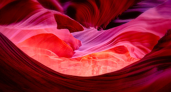 Symphony in Red, Lower Antelope Canyon, Arizona