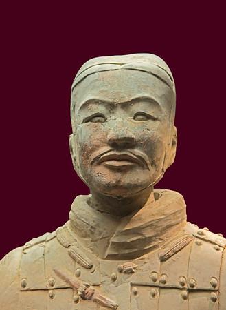 Terracotta General, Xian, China