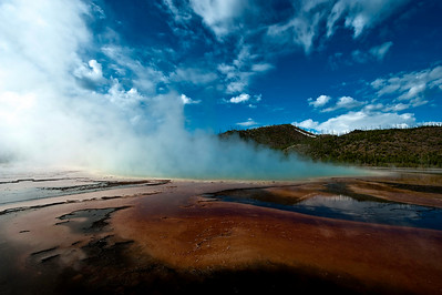 Grand Prismatic Geyser Yellowstone National Park