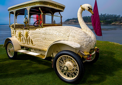 Imagine Swan Lake - 1910  Rolls Royce Brook 25/30 HP Swan Car.