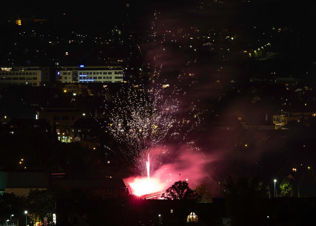 Feuerwerk Fellbacher Herbst