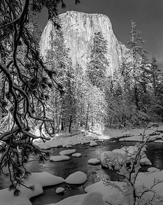 Merced River & El Capitan, Yosemite