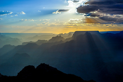 Grand Canyon Sunset from Desert View