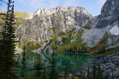 Colchuck Lake and Aasgard Pass