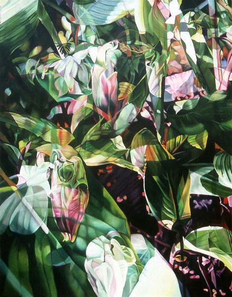 """TROPICAL INTRIGUE"" ~ 46"" x 36"""