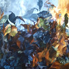 """FIRE FURY"" ~ 40"" x 54"""