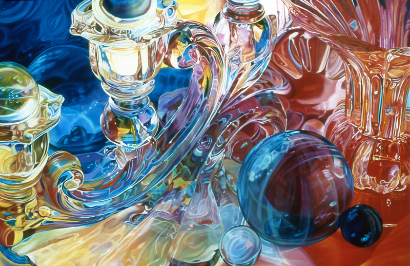 """CRYSTAL CRESCENDO"" ~ 32"" x 48"""