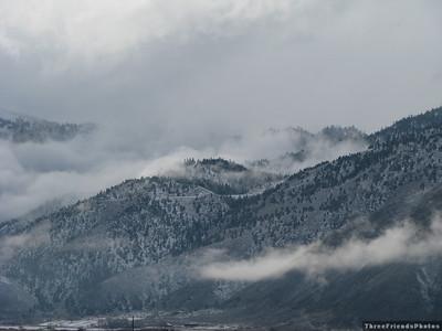 February - Sierra Nevada Mountains, Carson Valley, NV
