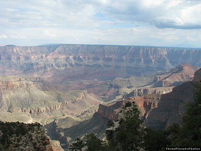 September - Walhalla Overlook - North Rim of the Grand Canyon