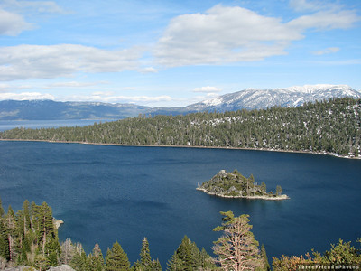 April - Emerald Bay - Lake Tahoe in California