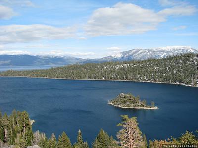 April - Emerald Bay - Lake Tahoe in California