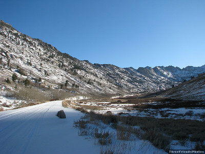 November - Lamoille Canyon, NV