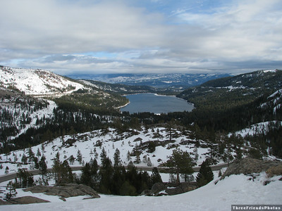 Donner Lake in January