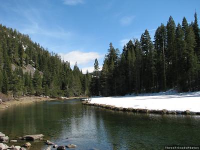 April - Truckee River along 89 in California