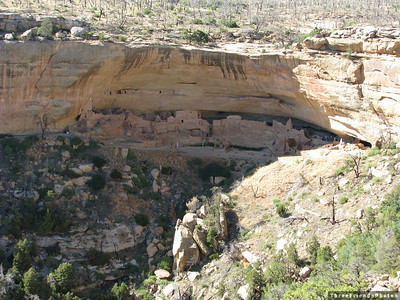 August - Long House Overlook at Mesa Verde