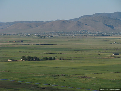 View of Carson Valley as seen from Kingsbury Grade.