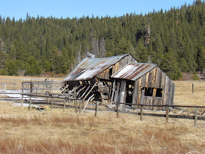 Old Building at Bickford Ranch
