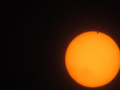 Venus transit of the sun at the start.