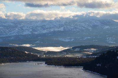 Early Morning view of Donner Lake from the overlook.