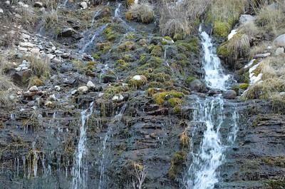 Run off water near Boca Reservoir
