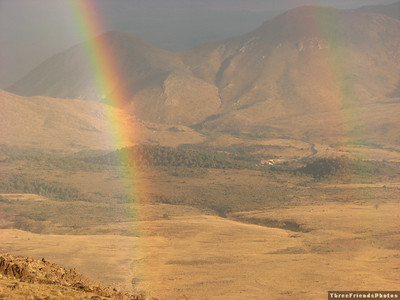 Double Rainbow, near Topaz Lake, Nevada