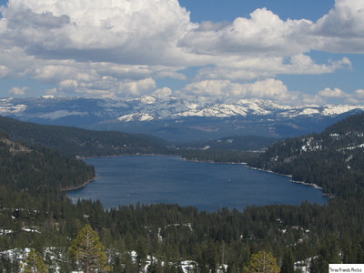 Donner Lake from Rainbow Bridge.