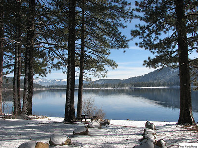 Donner Lake At The Shore