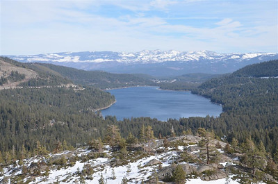 Donner Lake from the look-out