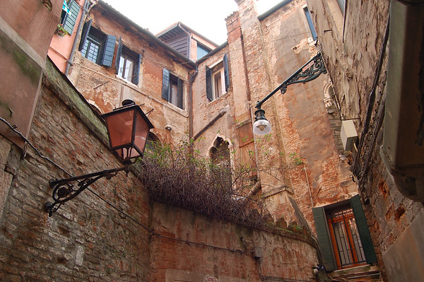 Venician Street Corner