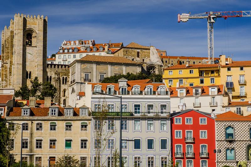 Lisbon homes.