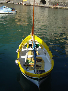 Vernazza Sailboat
