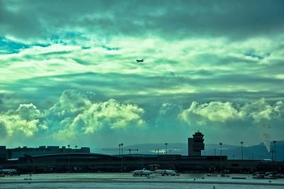 At Zurich airport