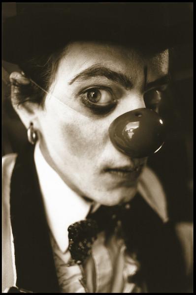 Derek Ives, clown