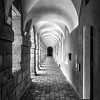 Covered Walkway  -  Black and White