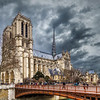 Notre-Dame on a Cold Winter Day