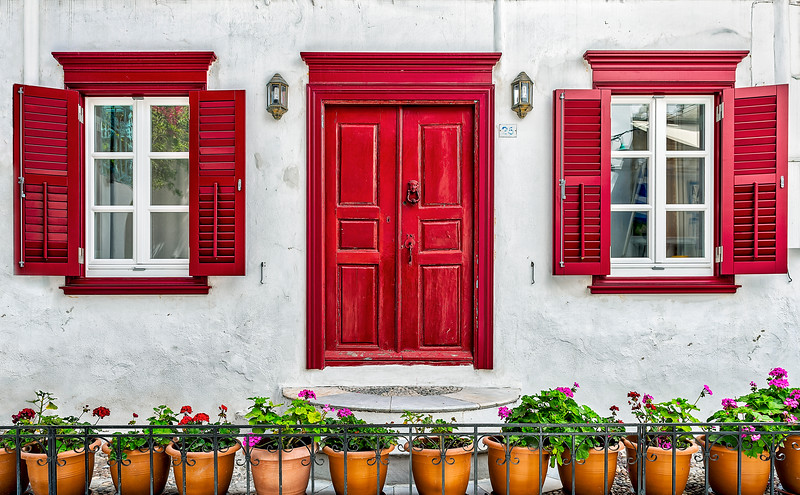The Red Shutters