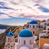 Colorful Santorini