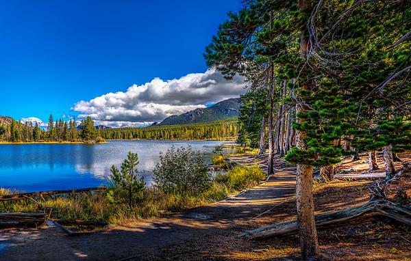 Morning on Sprague Lake