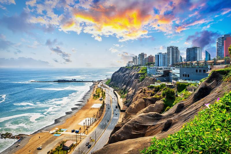 The Cliffs of Miraflores