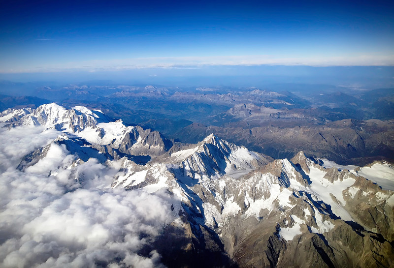 Above the Italian Alps