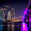 Neon Nights on the Bay