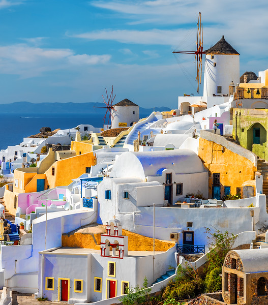 Colors of Santorini