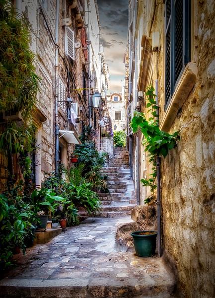 The Walkways of Dubrovnik