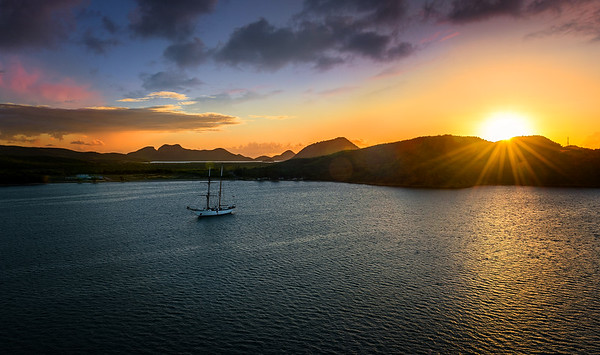 Antigua Sunset