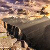 Sunrise at Machu Picchu