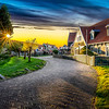 Sunset in Marken
