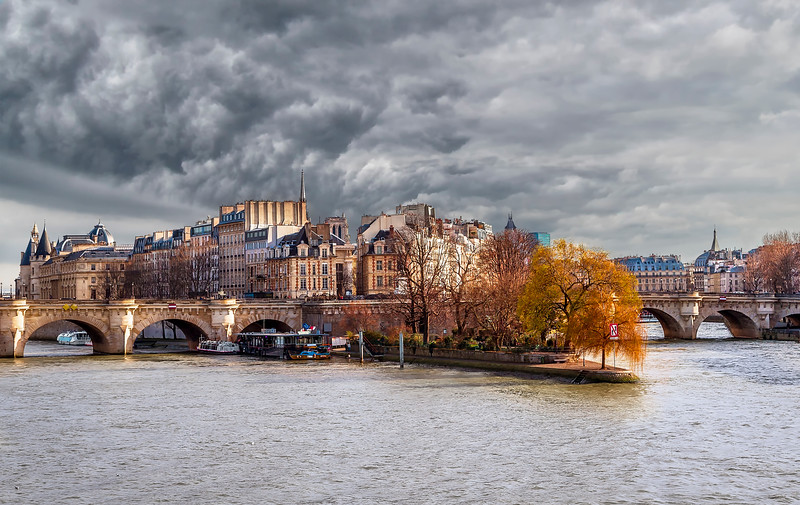Winter Along the Seine