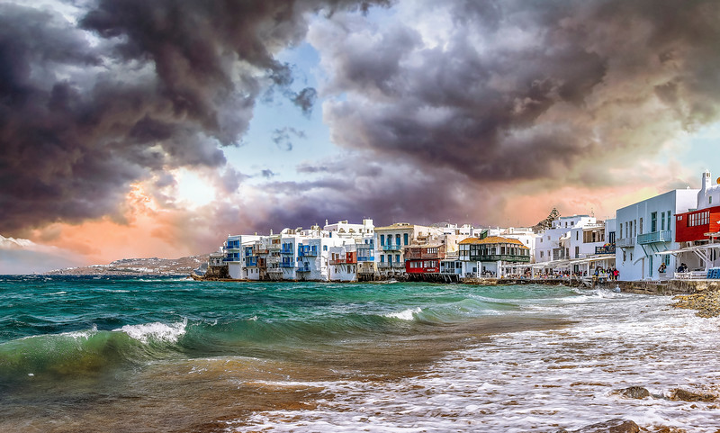 Storm Over Mykonos