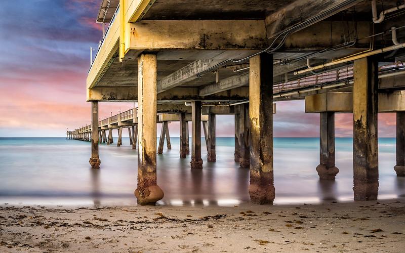 Sundown by the Pier