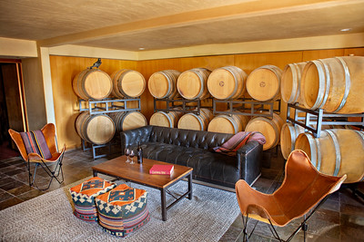 new barrel tasting lounge